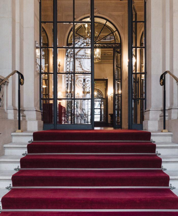 Fondation Cino del Duca, dans un hôtel particulier rue Alfred de Vigny dans le 8e arrondissement de Paris, accolé au parc MonceauPropriété de l'Institut de France